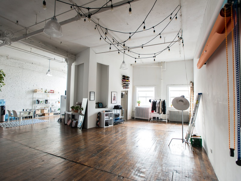 Natural Light Vintage Loft Studio